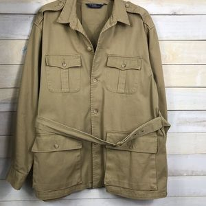 Polo Ralph Lauren Belted Utility Jacket Size XL